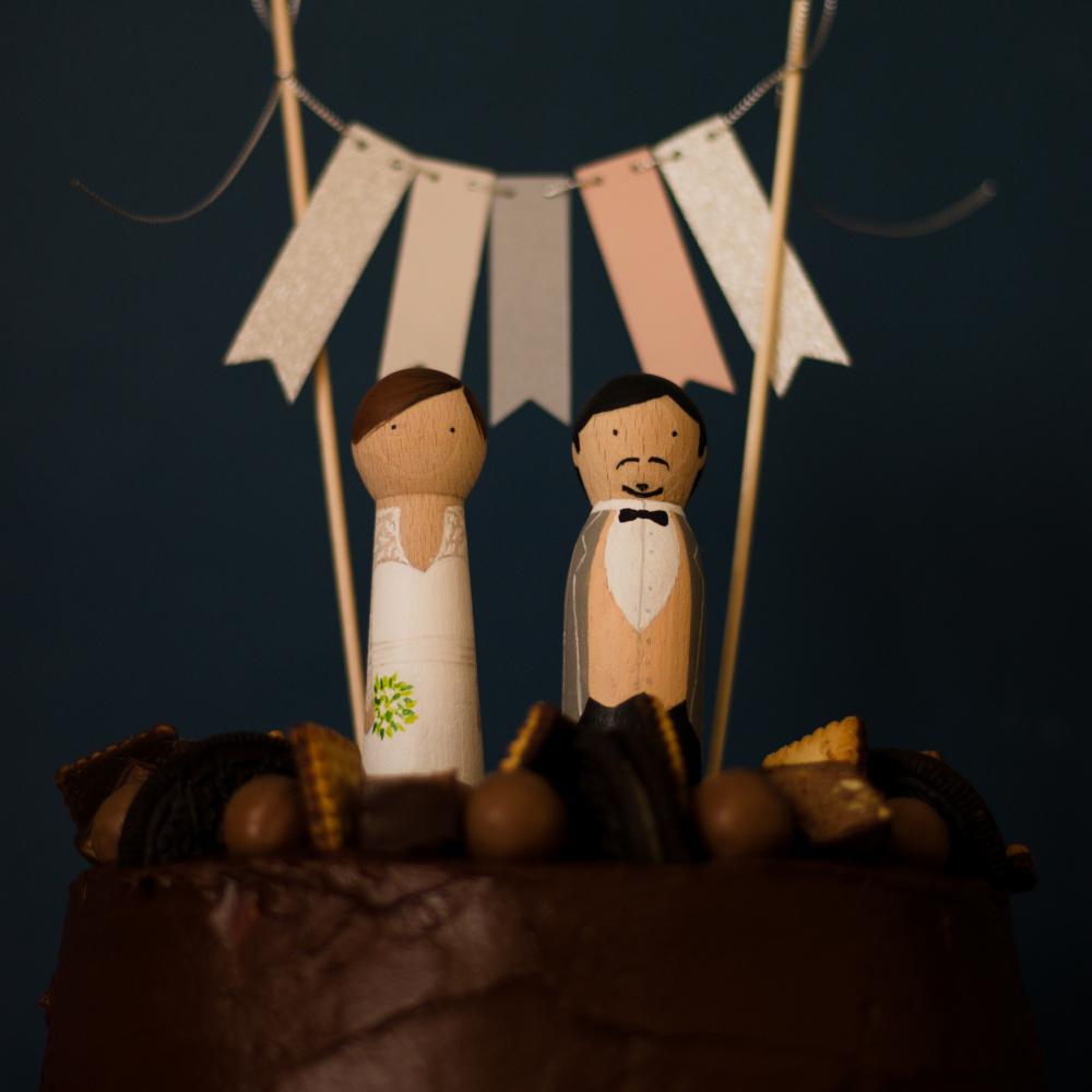 Read more about the article Tort czekoladowy z praliną migdałową