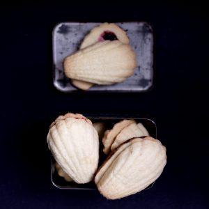 Read more about the article Muszelki, czyli podwójne ciastka z dżemem