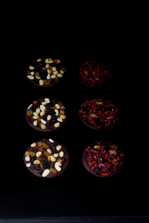 mendiants czekolada z bakaliami diy