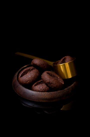 przepis na ciasteczka ziarna kawy