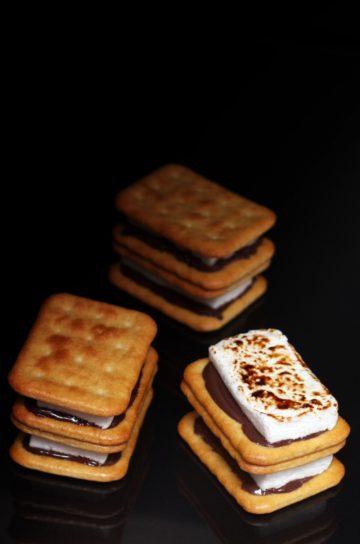 czekolada krakersy pianki marshmallow przepis